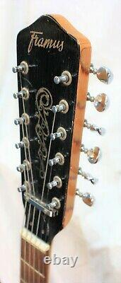 Vintage Framus 1960's 12 String Electric Hollow Body Guitar WithHard Case