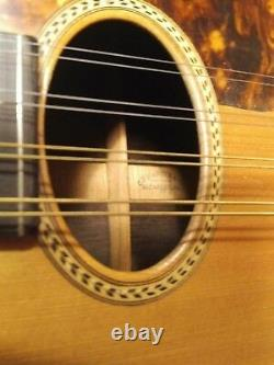 Vintage Martin Type B Mandolin in Natural Finish with Eight Strings 1920