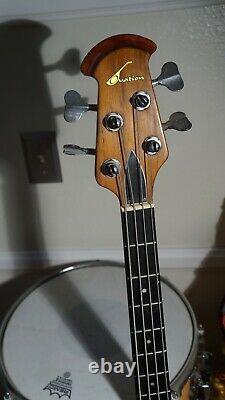 Vintage Ovation bass guitar 4 strings