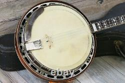 Vintage and Rare! Gibson Mastertone TB-3 1928 Pre-War 4 String Banjo with OHSC