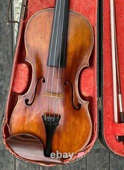 Violin 4/4 Giovanni Tononi 1740 And H. R. Pfretzschner Gold Bow