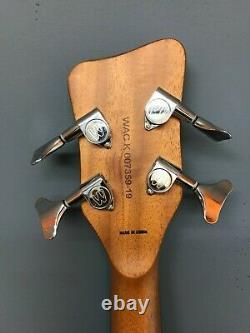 Warwick Rockbass Alien 4-String Electro-Acoustic Bass Guitar, Spruce + Gig Bag