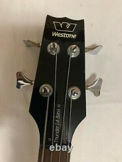 Westone Thunder I-A 4 String Active 80's Bass Guitar