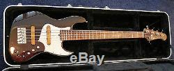 Xotic XJ-1T 5 string Bass with Hard Case and Aguilar Preamp