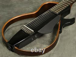YAMAHA Silent Acoustic Classical Guitar SLG200N TBL Natural Nylon Strings Japan